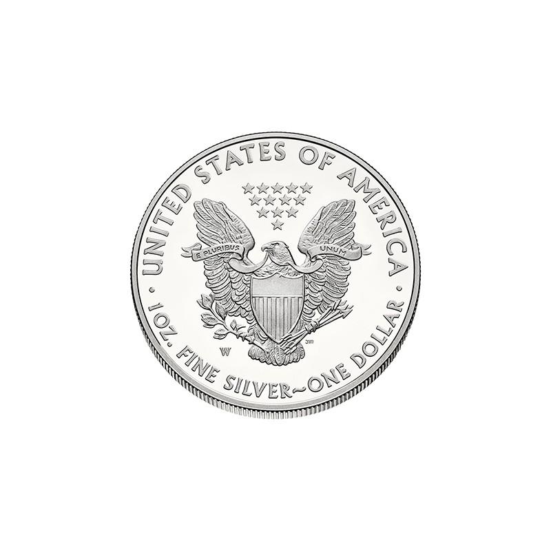 Pièce-Moderne-Silver-Eagle-1-once-Argent