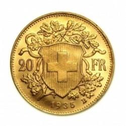 Pièce-investissement-Or-20-Franc-Suisse