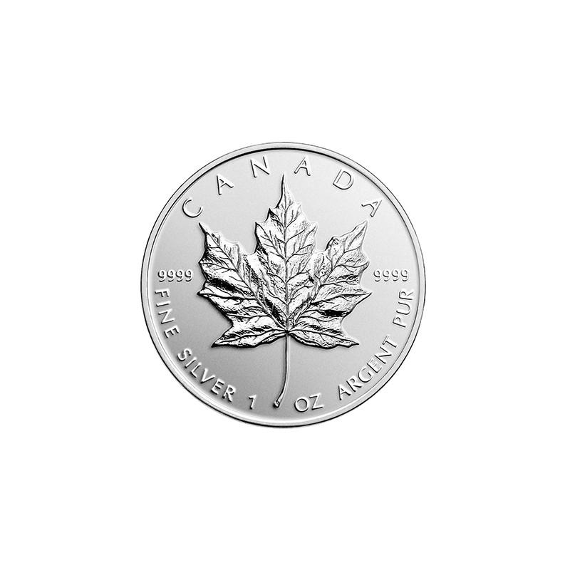 Pièce-Moderne-Maple-Leaf-1-once-Argent