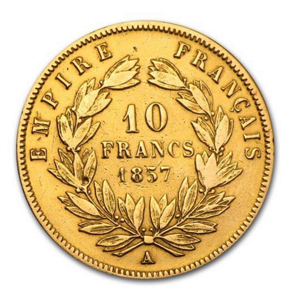 Pièce-20-Franc-Napoléon-Or-Revers
