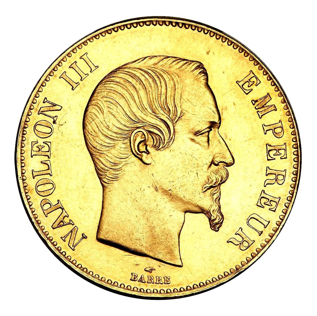 Pièce-20-Franc-Napoléon-Or-Avers