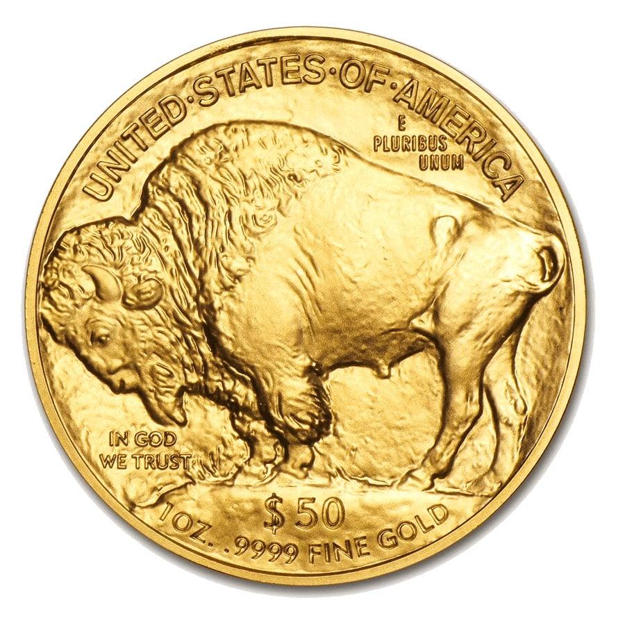 Pièce-Buffalo-1-once-Or-Revers